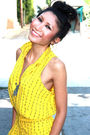 Yellow-vintage-jumper-white-topshop-boots-yellow-kenneth-jay-lane-earrings-
