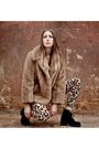 Brown-yayer-vintage-coat-beige-yayer-modern-pants