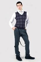 Misaky shirt - Hanjiro vest - Hanjiro pants - vintage tie