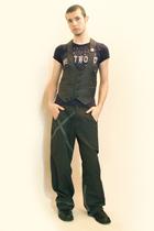 vivienne westwood t-shirt - From Harajuku Tokyo vest - pants - boots - Tanaka-sa