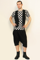 Comme des Garcons for H&M t-shirt - Sisley vest - pants - boots