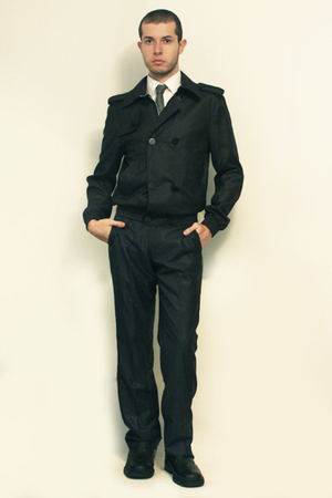Zara shirt - Hanjiro tie - Zara jacket - Zara pants - shoes