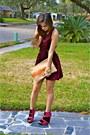 Velvet-messeca-shoes-velvet-mink-pink-dress-madly-yours-purse