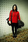Black-puzzle-boots-black-sie-go-dress-red-the-7-sweater-black-zipper-5cm-l