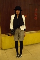 5cm hat - twopercent jacket - belt - DIZEN shorts - - Giordano Concepts shoes