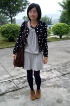 H&M jacket - weekend workshop dress - necklace -  purse - shoes