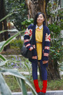 Blue-bershka-leggings-yellow-moms-vintage-flora-shirt-navy-mens-th-cardigan-