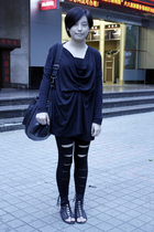 AVEC homme t-shirt - dizen de brand purse - leggings - puzzle shoes