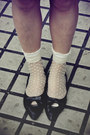 Navy-h-m-dress-black-bag-white-polka-dots-socks-cream-h-m-sunglasses