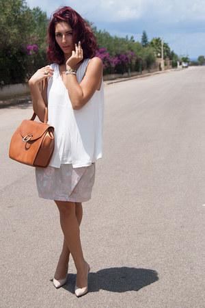 H&M top - Zara heels