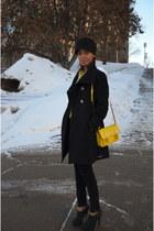 Steve Madden bag - Aritzia coat