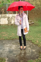 periwinkle rain coat JouJou coat - black sequined Rue 21 jeans