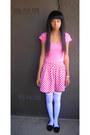 Bubble-gum-hollister-shirt-red-forever-21-skirt