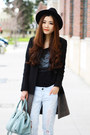 Black-winter-all-saints-coat-light-blue-boyfriend-jeans