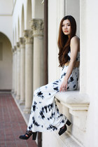 white maxi dress Morphologie dress