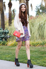 Amethyst-prints-forever-21-dress-heather-gray-nordstrom-hat