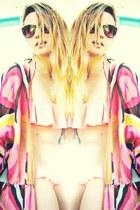 tunic H&M blouse - pull&bear swimwear