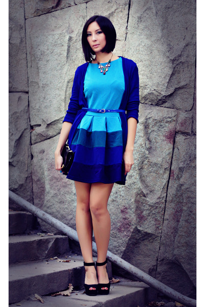 blue kira plastinina dress