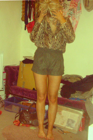 Glamorous jacket - Miss Selfridge shorts