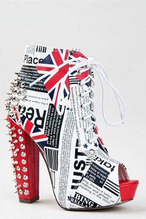 red Kiss Kouture boots