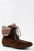 dark brown shoelace bootie Madden Girl boots