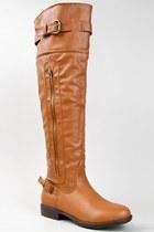 Tawny-bamboo-boots