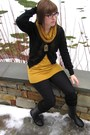 Yellow-american-apparel-shirt-black-madewell-jeans-black-urban-outfitters-bo
