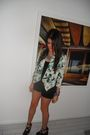 Black-zara-shorts-black-jeffrey-campbell-shoes-blue-forever-21-shirt-black