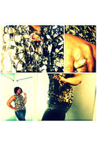 Forever 21 blouse - American Eagle jeans - Forever 21 accessories