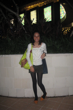 Marc by Marc Jacobs sweater - Mango shorts - Mango accessories - Nine West shoes
