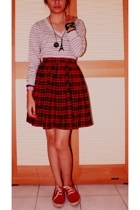 Zara sweater - moms legacy skirt - united colors of benetton shoes - forever 21