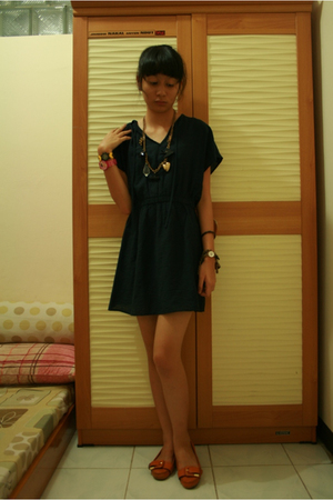 lm for hardware dress - Nine West shoes - forever 21 necklace - lego accessories