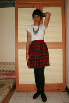 unbranded shirt - moms legacy skirt - aunts legacy tights - adity shoes shoes -