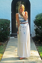 free people dress - ASH wedges - vintage belt