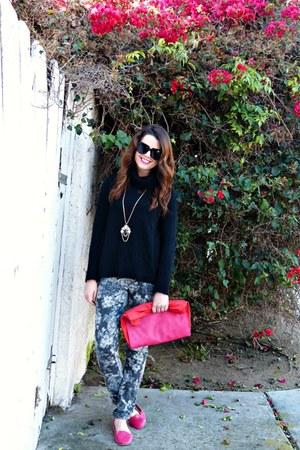 pink Target loafers - skinny jeans Nordstrom jeans