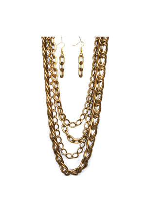 bronze AbsoluteAccessorycom necklace