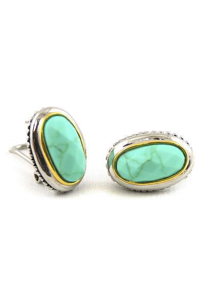 turquoise blue AbsoluteAccessorycom earrings