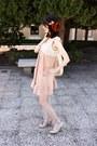 Off-white-asos-dress-eggshell-next-heels