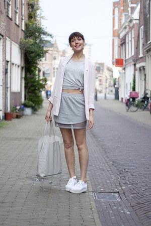 GINA TRICOT blazer - & other stories bag - weekday skirt