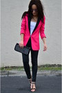 Zara-shoes-romwe-blazer-mango-purse-zara-pants