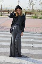 silver asos dress