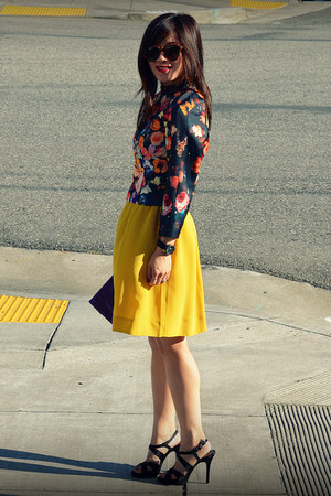 H&M top - dress as skirt Anthropologie dress