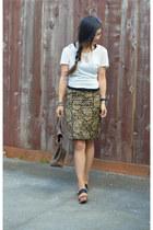 JW Anderson x Topshop skirt - pashli 31 Phillip Lim bag - Gap sandals