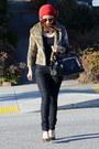 Forever-21-jeans-forever-21-hat-thrifted-jacket-leopard-loft-heels