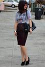 Prada-bag-mickey-forever-21-t-shirt-h-m-skirt-max-studio-heels