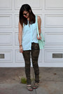 H-m-shirt-loeffler-randall-bag-karen-walker-sunglasses-camo-zara-pants