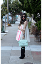 loeffler randall bag - asos boots - Minju Kim x H&M dress
