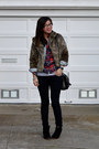 Asos-shoes-jean-jacket-h-m-jacket-faux-fur-thrifted-jacket