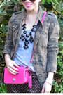 Camo-zara-jacket-coach-legacy-penny-purse-polka-dot-jcrew-pants