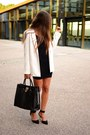 Zara-dress-pull-bear-blazer-michael-kors-bag-zara-heels
